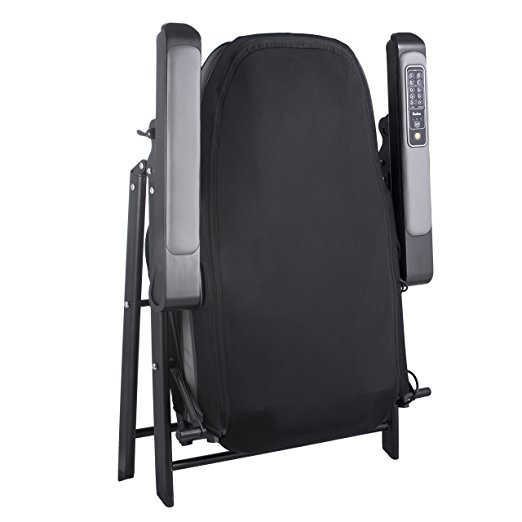 Foldable shiatsu massage chair