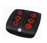 Air pressure & shiatsu foot massager